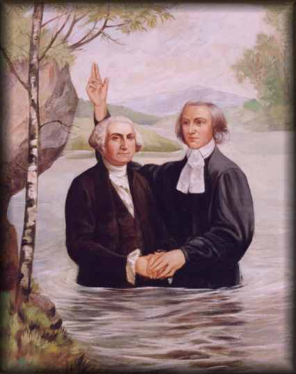 George Washington's Baptism